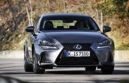 Lexus IS, 2017, front
