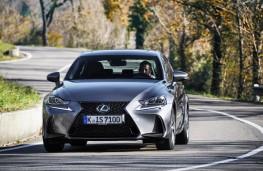 Lexus IS, 2017, front, action