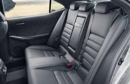Lexus IS, 2017, rear seats