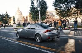 Lexus IS, 2017, side, action