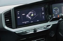 Vauxhall Mokka-e, 2021, display screen