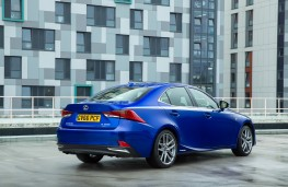 Lexus IS 300h, 2017, rear, static