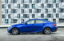 Lexus IS 300h, 2017, side, static