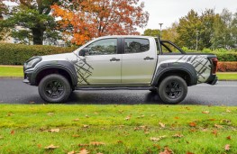 Isuzu D-Max XTR, side static