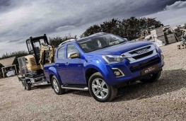 Isuzu D-Max 2019 towing