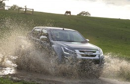 Isuzu D-Max 2019 watersplash