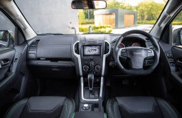 Isuzu D-Max XTR Double Cab, cabin