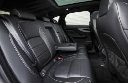 Jaguar F-PACE, rear seats