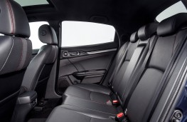 Honda Civic Sport Line, 2020, rear seats