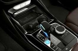 BMW iX3, 2021, centre console