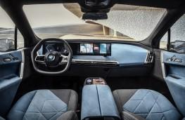 BMW iX, 2020, dashboard