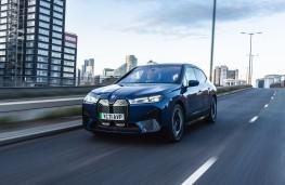 BMW iX, 2021, front, action