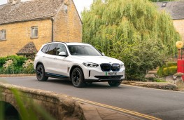 BMW Concept iX3, 2018, front