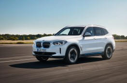 BMW iX3, 2020, front