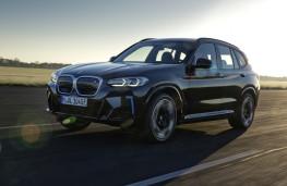 BMW iX3, 2021, front