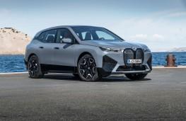 BMW iX, 2021, front, static
