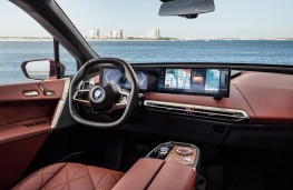 BMW iX, 2021, interior
