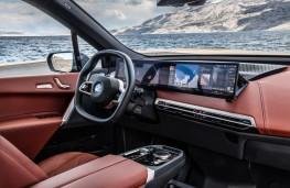 BMW iX, 2020, interior