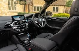 BMW iX3, 2021, interior