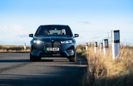 BMW iX, 2021, nose