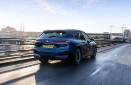 BMW iX, 2021, rear