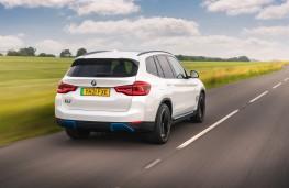 BMW Concept iX3, 2018, rear