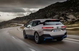 BMW iX, 2020, rear