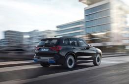BMW iX3, 2021, rear