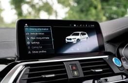 BMW iX3, 2021, display screen