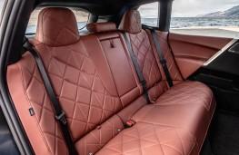 BMW iX, 2021, rear seats