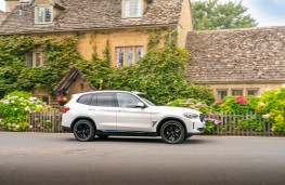 BMW Concept iX3, 2018, side