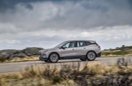 BMW iX, 2020, side