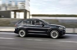 BMW iX3, 2021, side