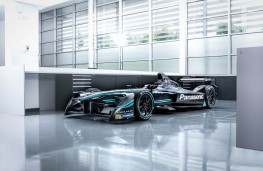 Jaguar I-TYPE 1 Formula E racing car, front