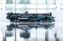 Jaguar I-TYPE 1 Formula E racing car, side