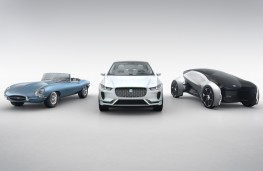 Jaguar E-Type Zero, Jaguar I-PACE, Jaguar Future-Type
