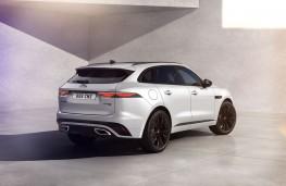 Jaguar F-Pace R-Dynamic Black Edition, 2021, rear