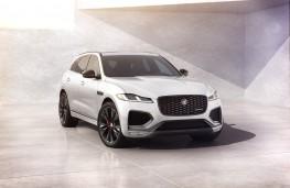 Jaguar F-Pace R-Dynamic Black Edition, 2021, front