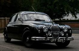 Jaguar police car
