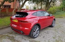 Jaguar E-PACE 2.0 R-Dynamic HSE, rear profile