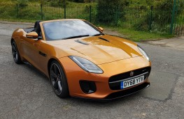 Jaguar F-TYPE R-Design Convertible