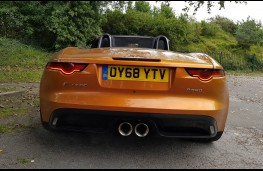 Jaguar F-TYPE R-Design Convertible, rear