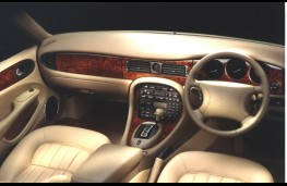 Jaguar XJ, 2008, interior