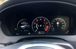 Jaguar XE 300 Sport, 2018, instrument panel, dynamic