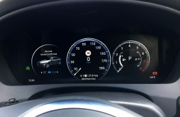 Jaguar XE 300 Sport, 2018, instrument panel, normal