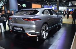 Jaguar I-PACE, rear, 2016, Los Angeles auto show