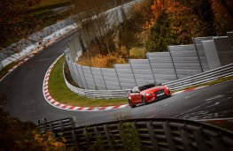 Jaguar XE SV Project 8, 2017, Nurburgring lap record, front, track