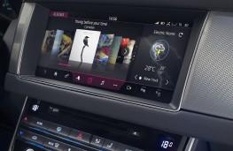 Jaguar XF Sportbrake, 2017, display screen