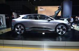 Jaguar I-PACE, 2016, Los Angeles auto show