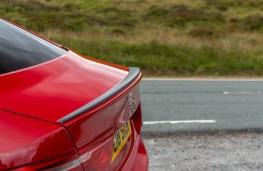 Jaguar XE 300 Sport, 2018, rear spoiler